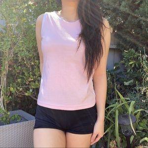 Pink tank top XS/S